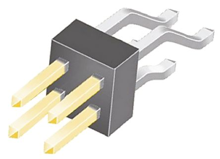 Samtec , TSM, 4 Way, 2 Row, Right Angle Pin Header