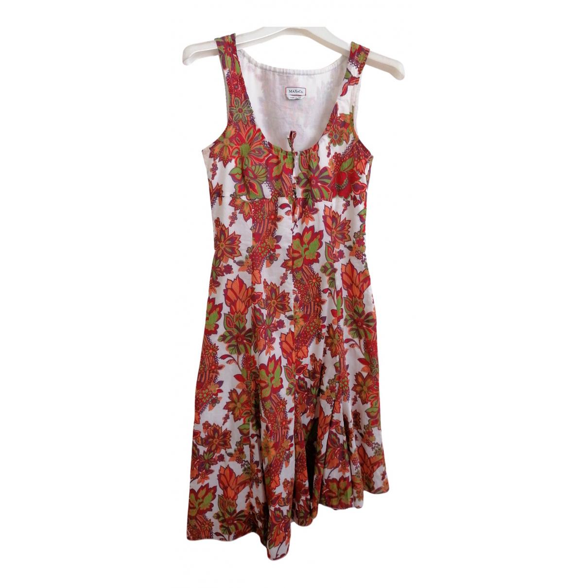 Max & Co \N Kleid in  Bunt Baumwolle
