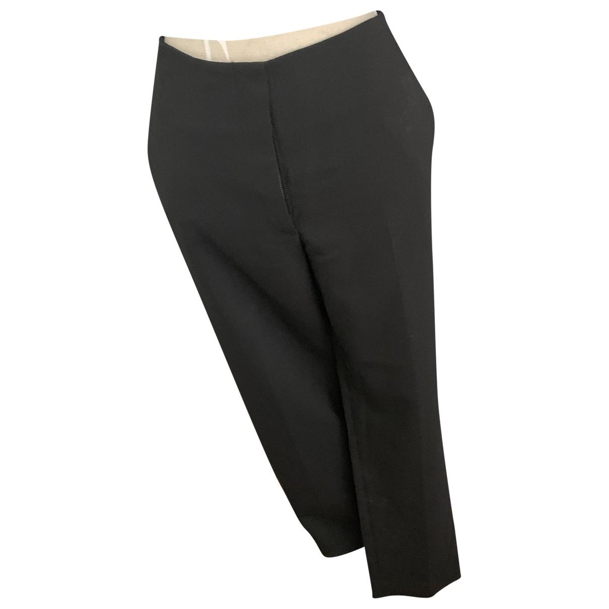 Pantalon en Elastano Negro Cos