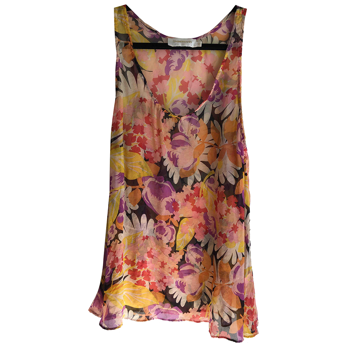 Zimmermann \N Multicolour Silk  top for Women 0 0-5