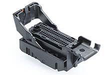 Molex MX123 Automotive Connector Socket 4 Row 66 Way, Crimp Termination, IP67, IPx9K, Black (144)