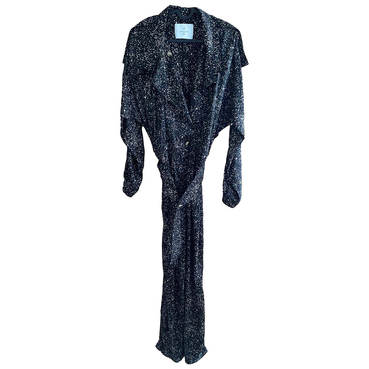 Carolina Ritz N Black Silk jumpsuit for Women 36 FR