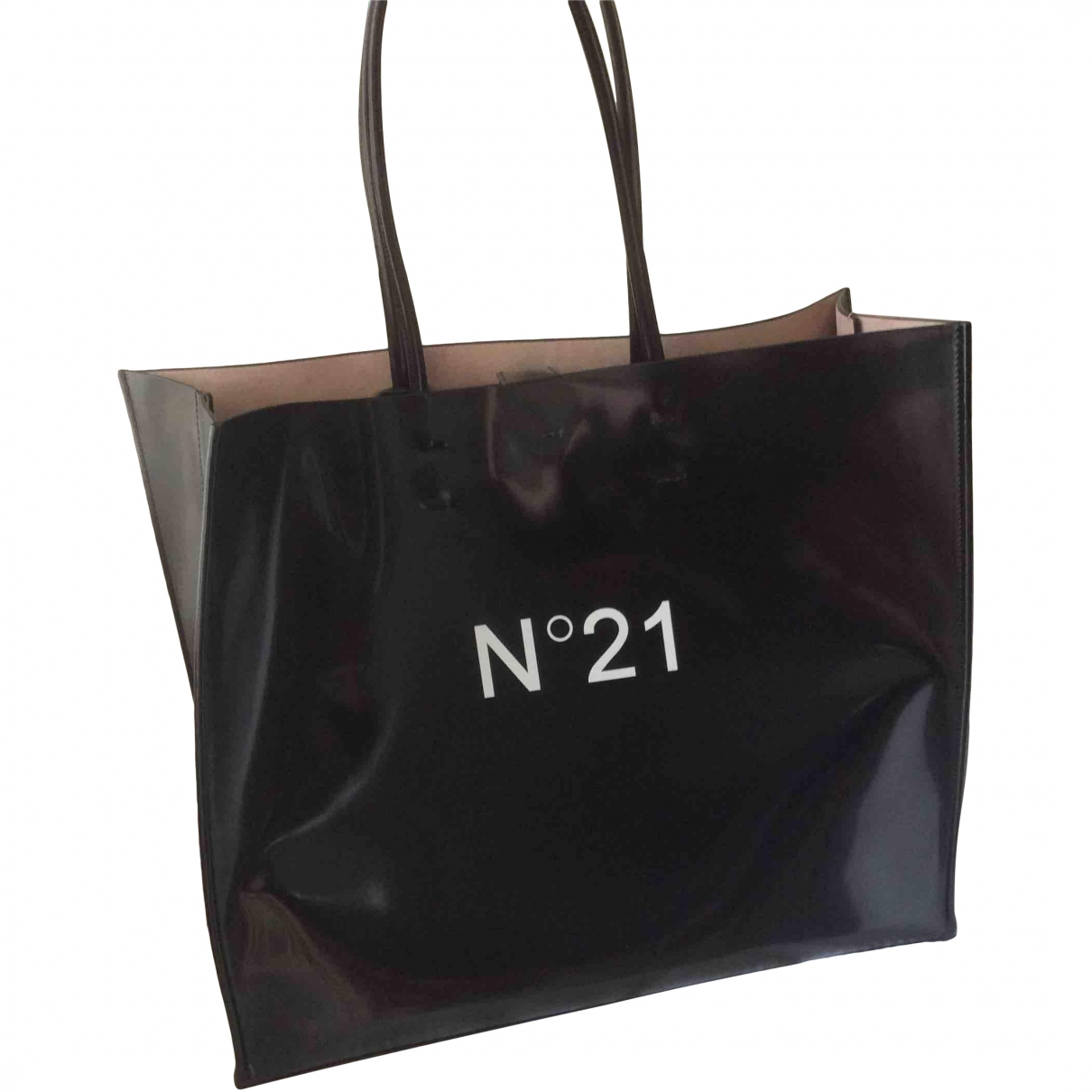 N°21 \N Black Leather handbag for Women \N