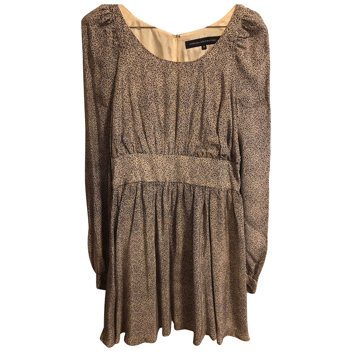 French Connection \N Grey Silk dress for Women 10 UK