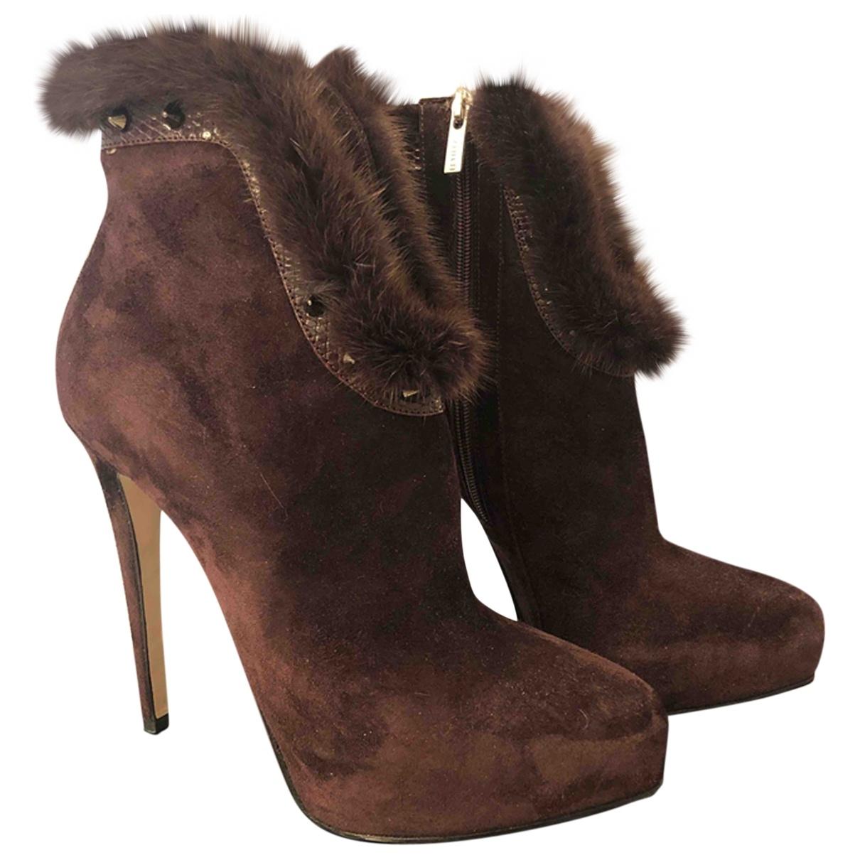 Le Silla - Boots   pour femme en suede