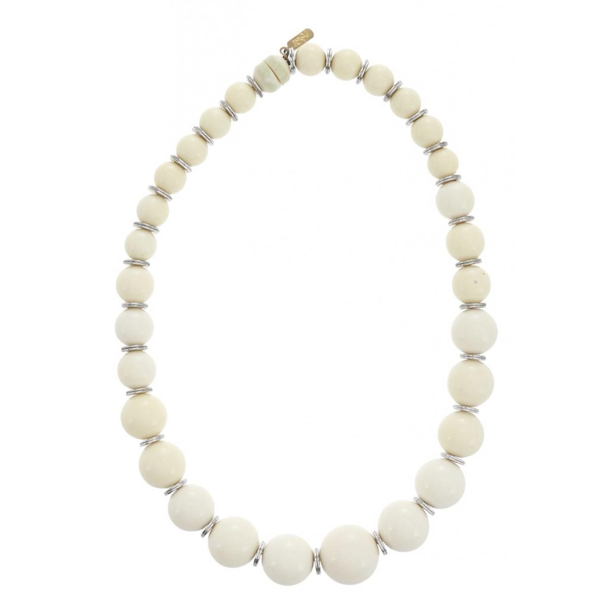 Yves Saint Laurent \N White necklace for Women \N