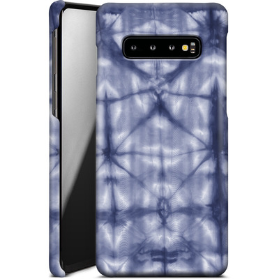 Samsung Galaxy S10 Plus Smartphone Huelle - Tie Dye 2 Navy von Amy Sia