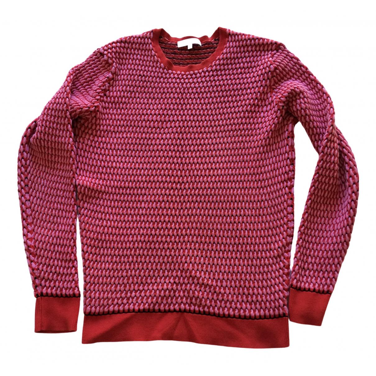 Jonathan Saunders - Pull   pour femme en coton - rose