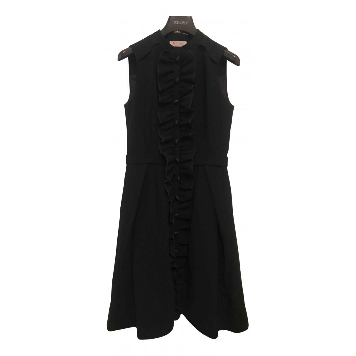 Dice Kayek - Robe   pour femme en coton - elasthane - noir