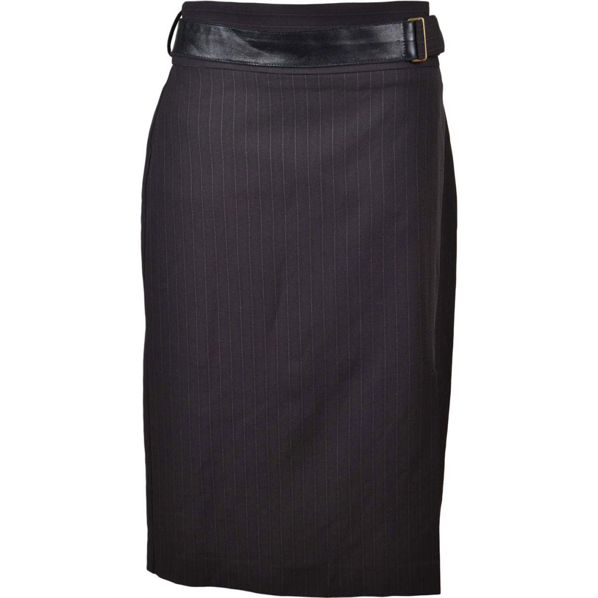 Max & Co \N Brown Wool skirt for Women 46 IT
