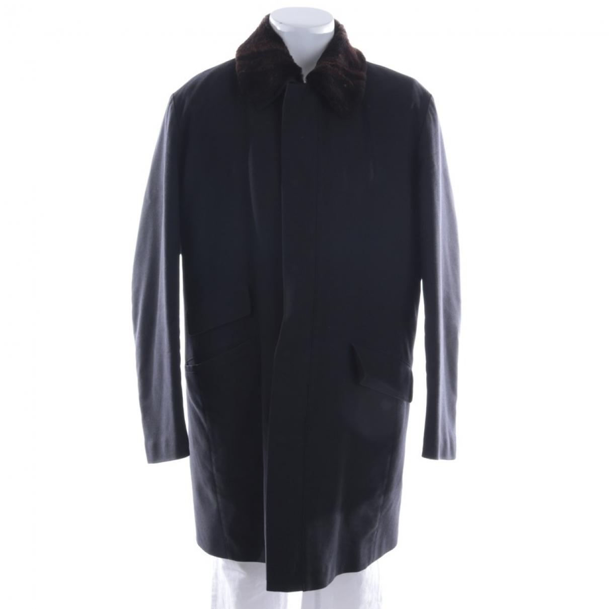 Brioni - Veste   pour femme en laine - bleu