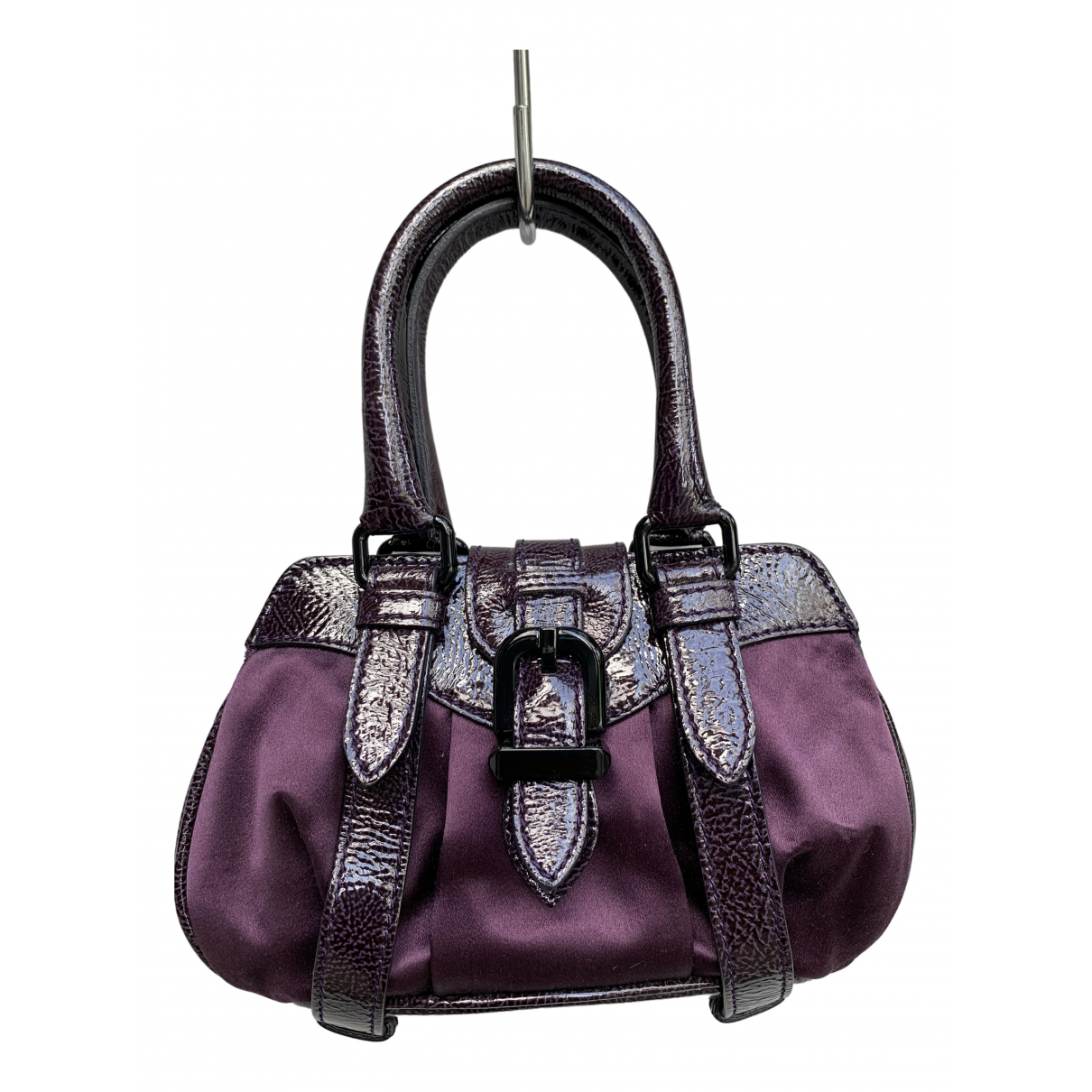 Alberta Ferretti \N Handtasche in  Lila Leinen