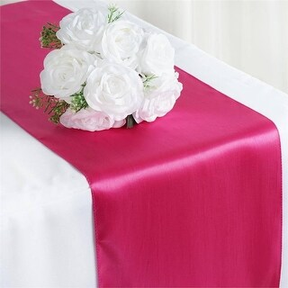 Oussum Set of 10 Silk Satin Table Runner Tablecloth 12