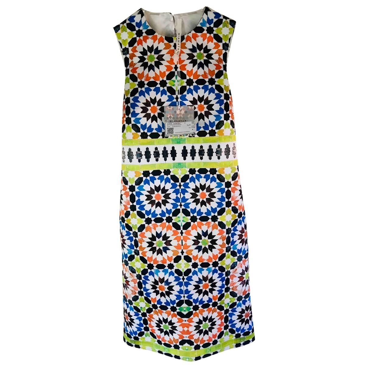 Miahatami \N Kleid in  Bunt Polyester