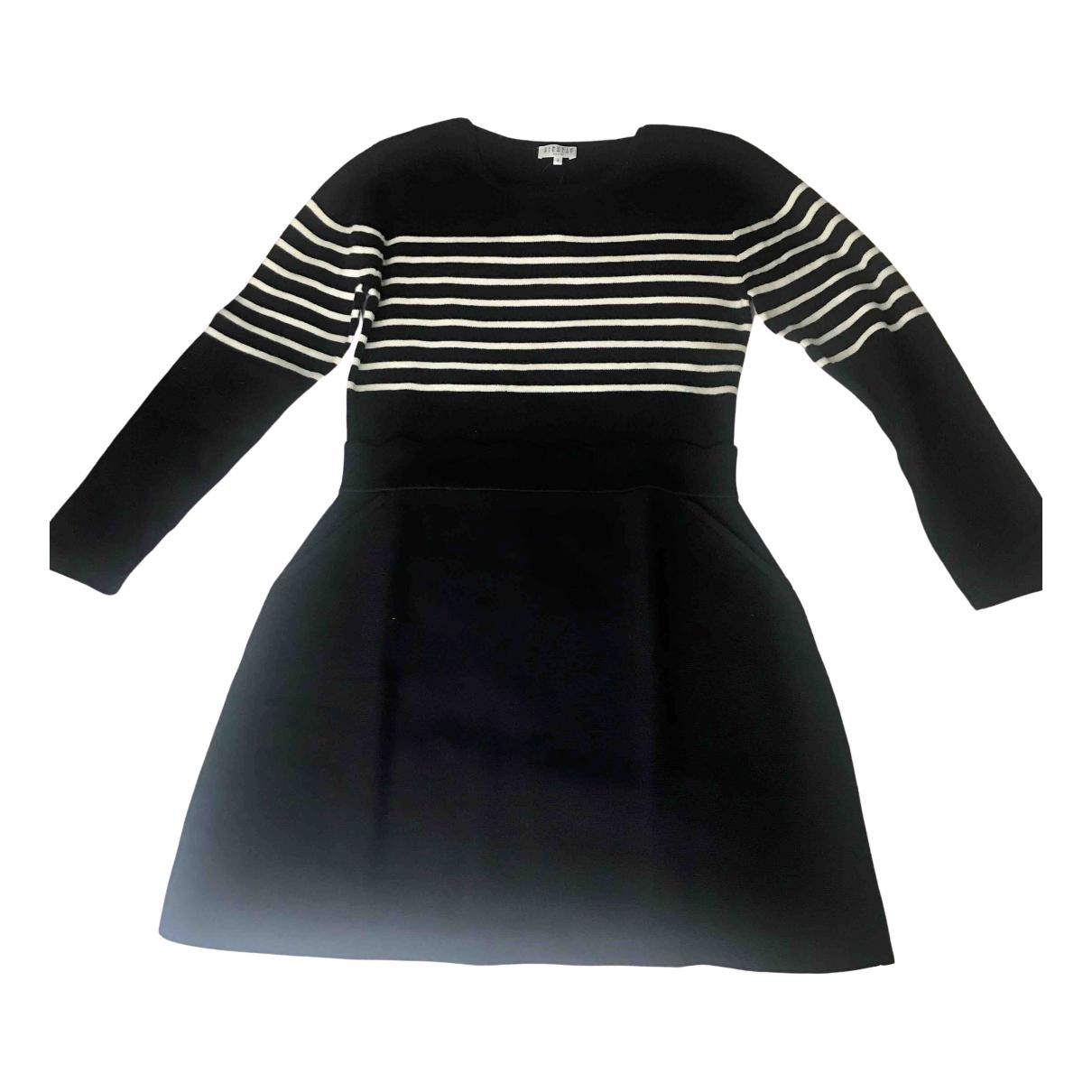 Claudie Pierlot Fall Winter 2019 Blue Cotton dress for Women 40 FR