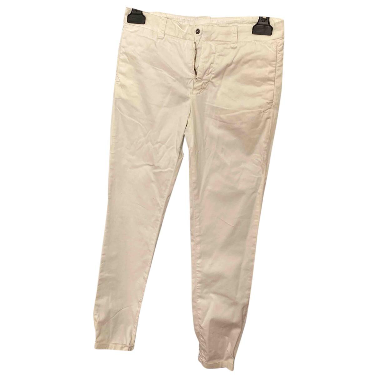 Dondup - Pantalon   pour enfant en coton - blanc