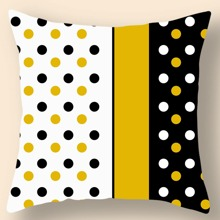 Polka Dot Cushion Cover Without Filler