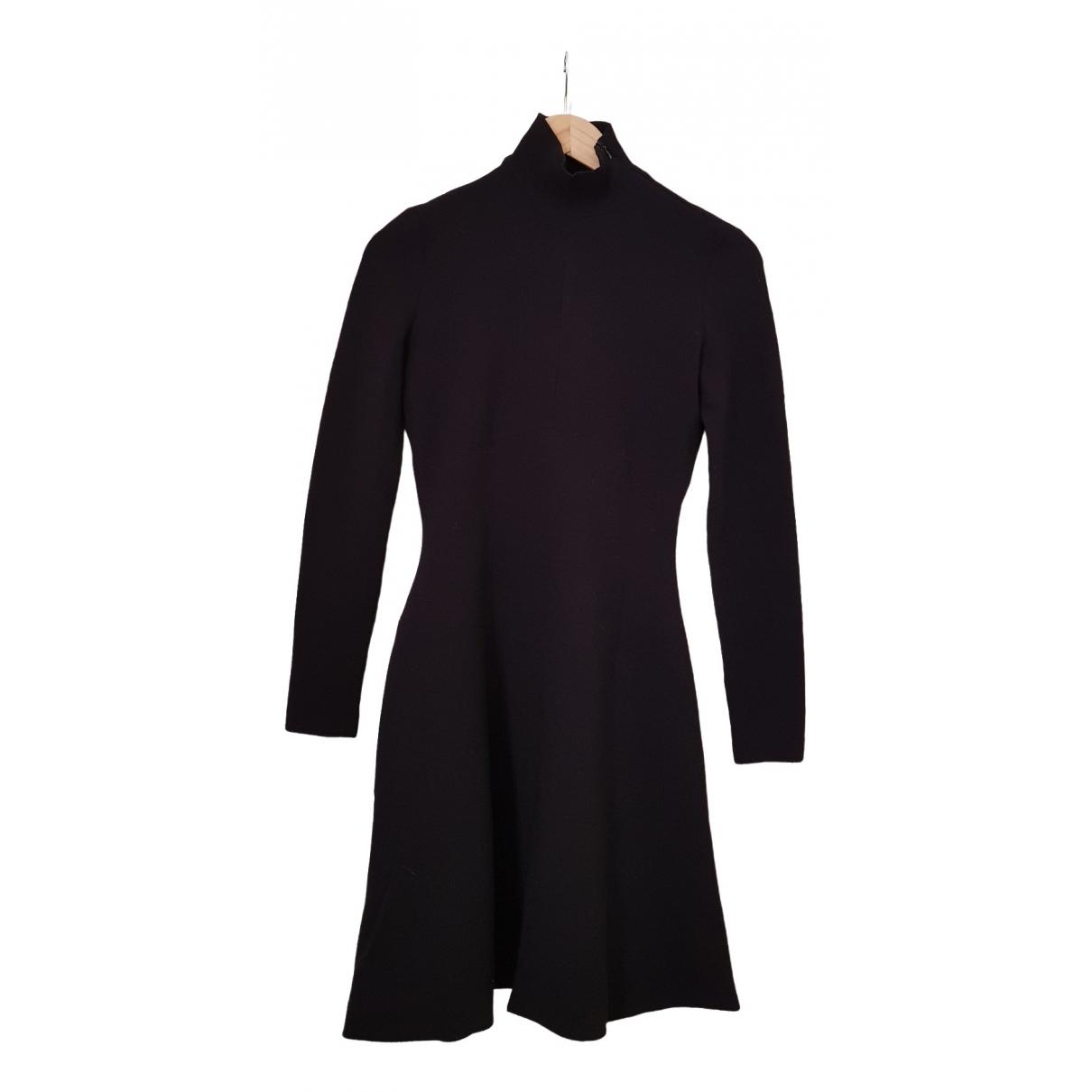 Chanel - Robe   pour femme en coton - elasthane - noir