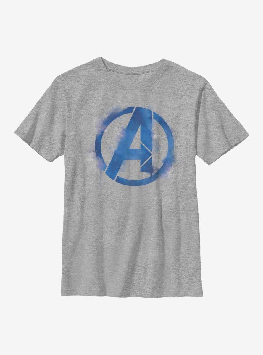Marvel Avengers Spray Logo Youth T-Shirt