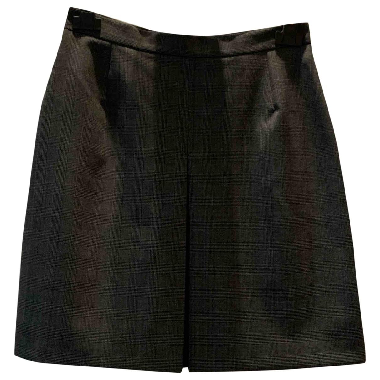 Valentino Garavani \N Grey skirt for Women 42 IT