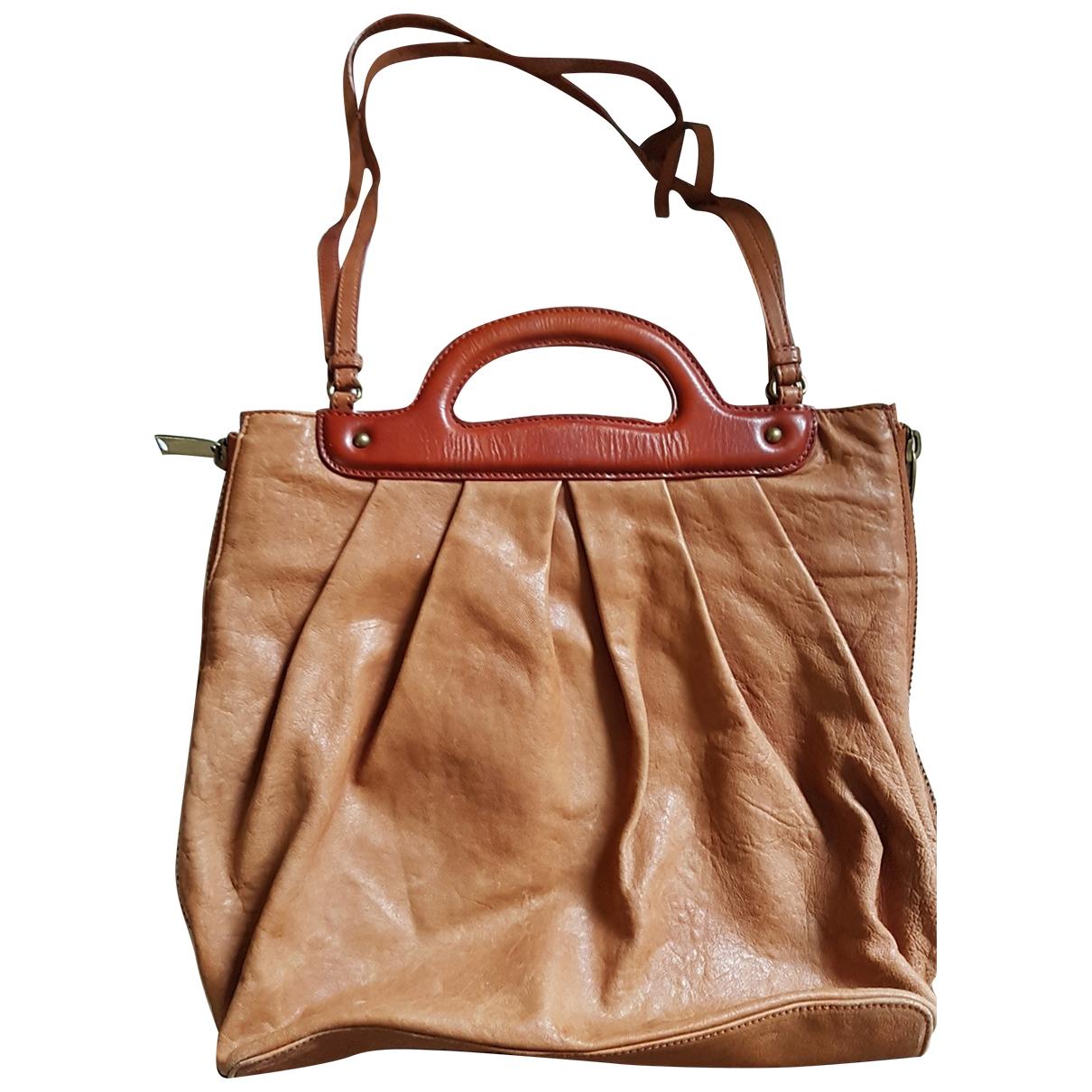 Cynthia Rowley \N Camel Leather handbag for Women \N