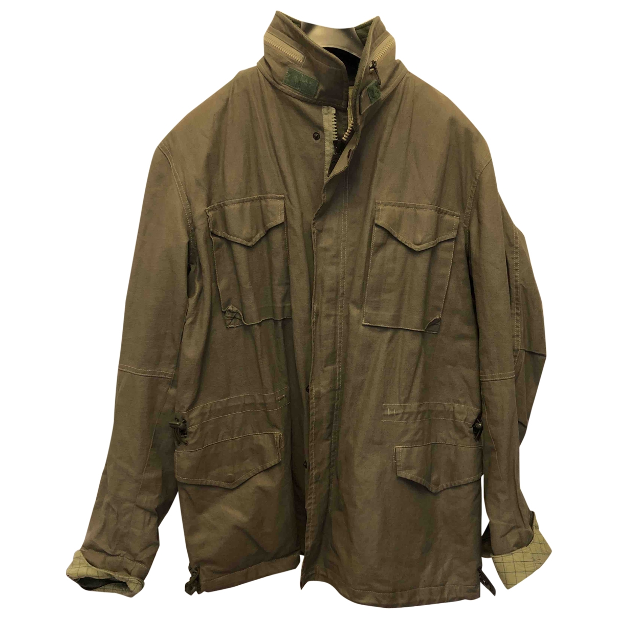 Maharishi \N Khaki Cotton jacket  for Men M International