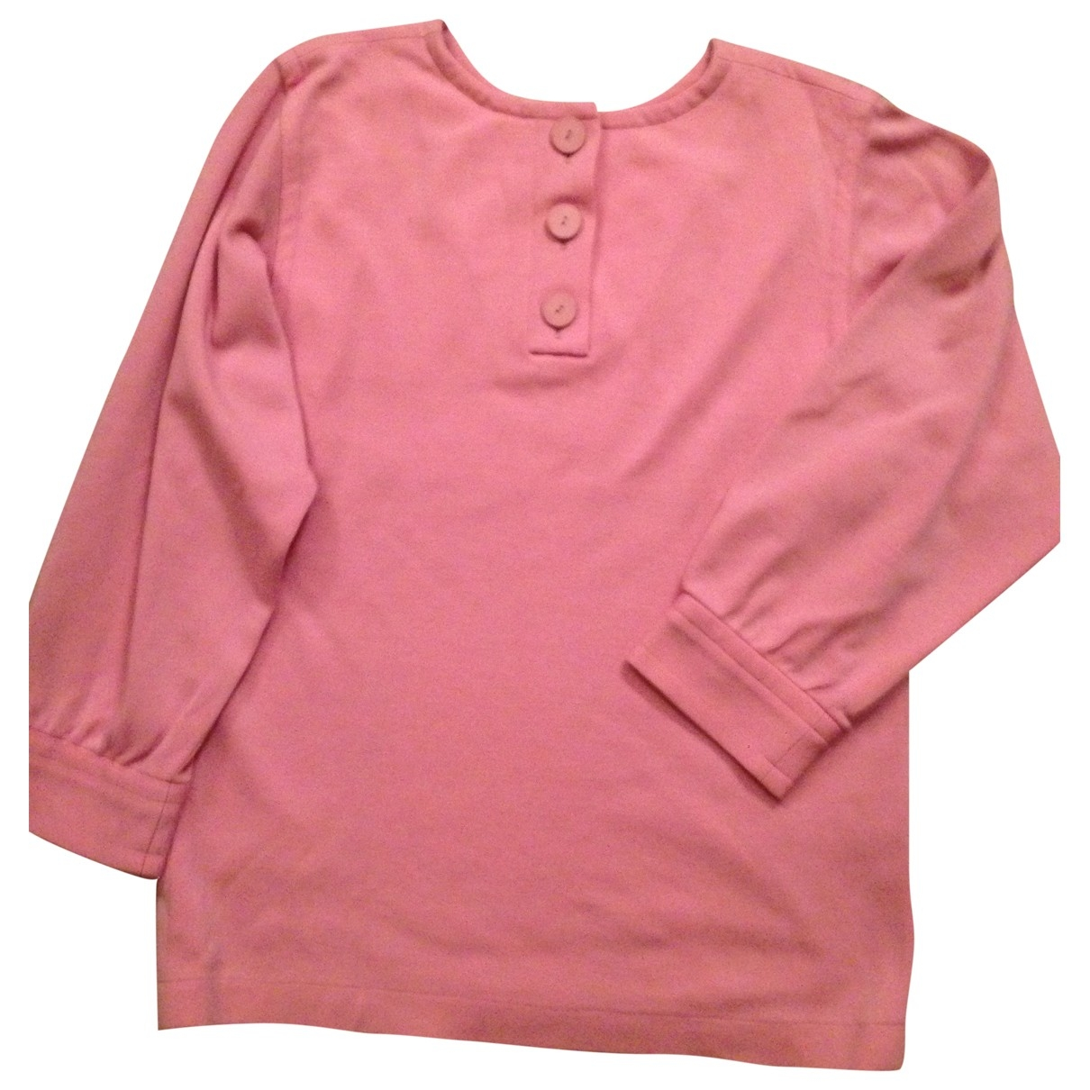 Yves Saint Laurent \N Pullover in  Rosa Wolle