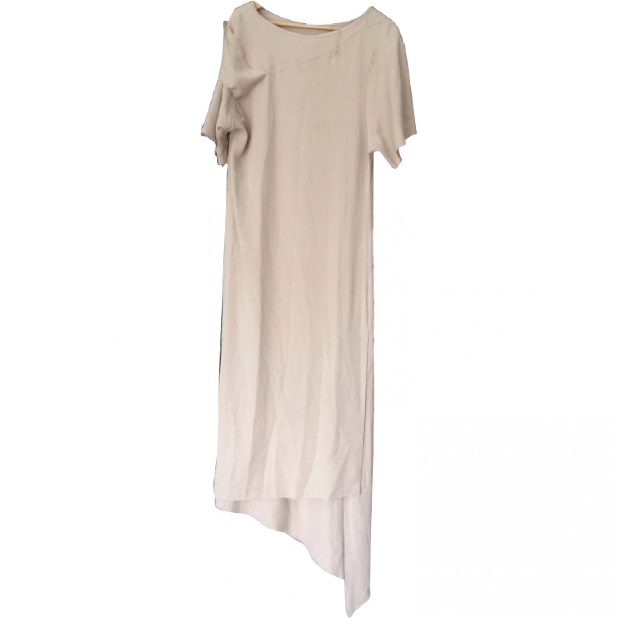 Anne Valerie Hash \N Ecru Silk dress for Women S