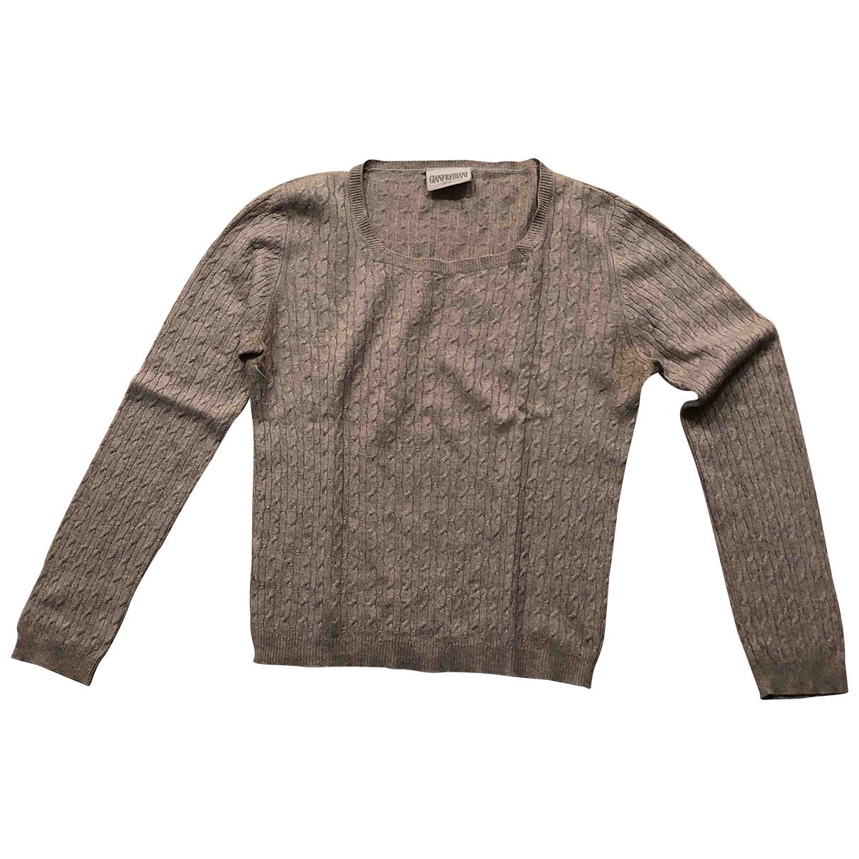 Non Signé / Unsigned \N Grey Silk Knitwear for Women S International