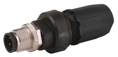 Murrelektronik Limited Murrelektronik Circular Connector, 3 contacts Cable Mount M12 Plug, IDC IP67