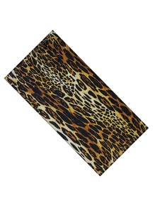 Leopard Pattern Sun Protection For The Face