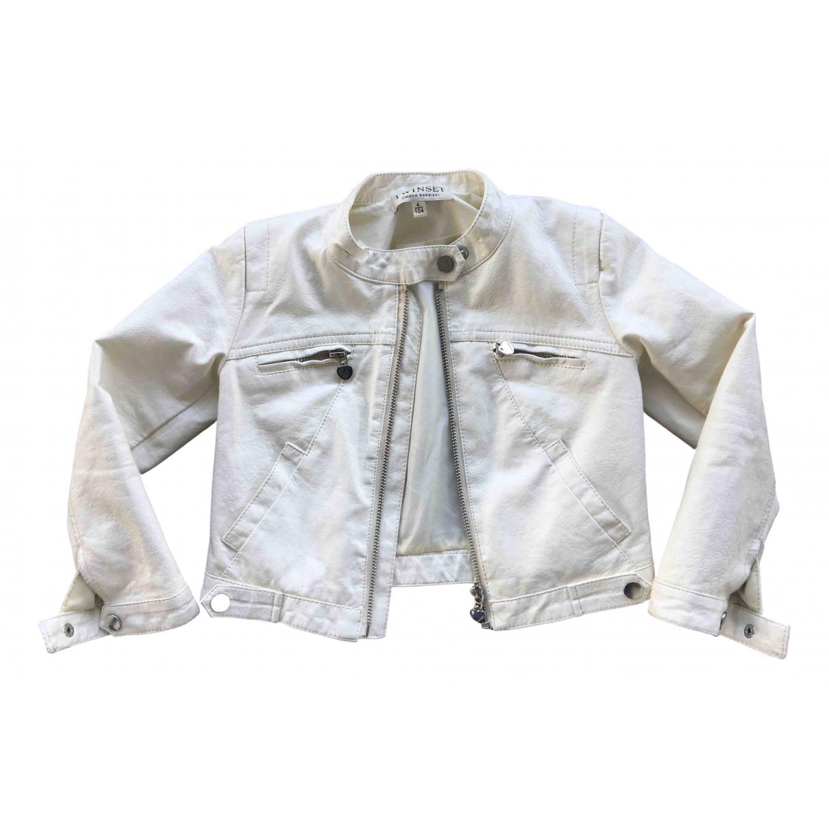 Twin Set - Blousons.Manteaux   pour enfant - blanc