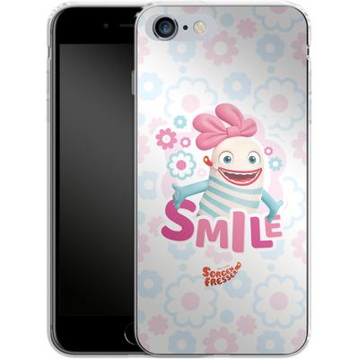 Apple iPhone 6s Plus Silikon Handyhuelle - Sorgenfresser Smile von Sorgenfresser