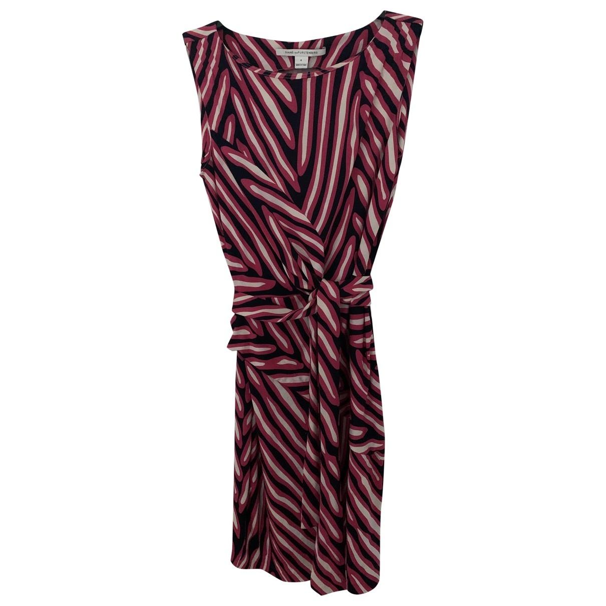 Diane Von Furstenberg \N Multicolour Silk dress for Women 6