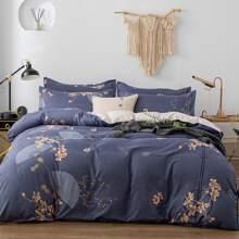 Set de cama floral sin relleno