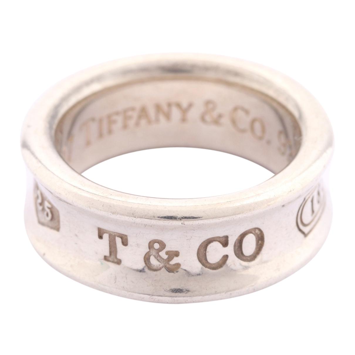 Tiffany & Co Tiffany 1837 Ring in  Silber Silber