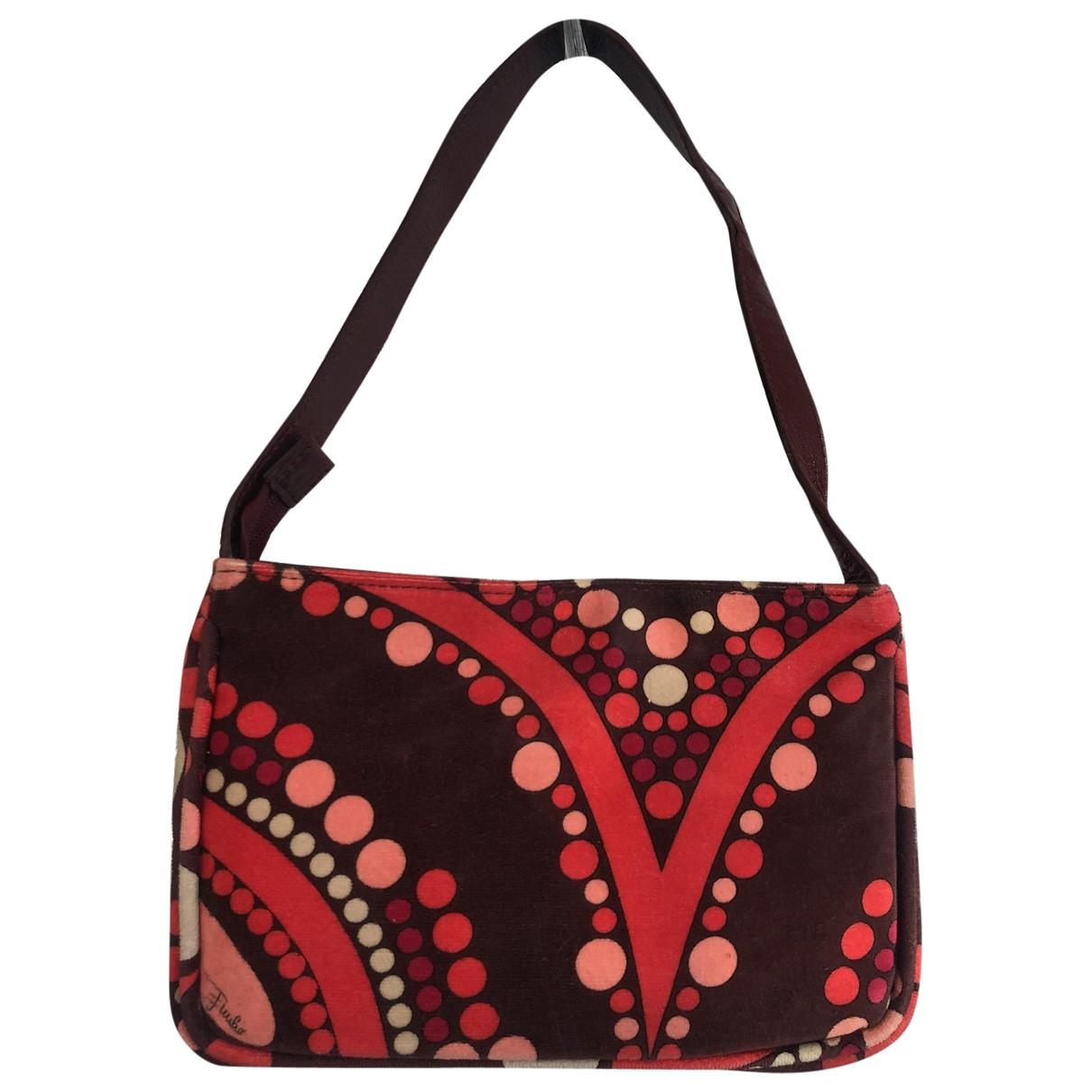 Emilio Pucci \N Multicolour Velvet Clutch bag for Women \N