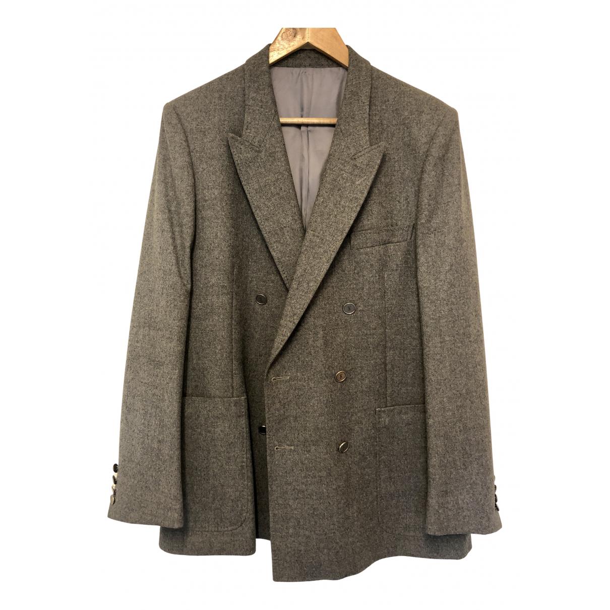 Yves Saint Laurent - Vestes.Blousons   pour homme en laine - gris