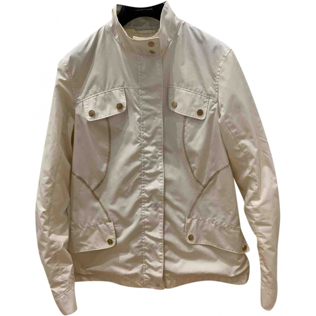 Marina Yachting - Trench   pour femme - blanc