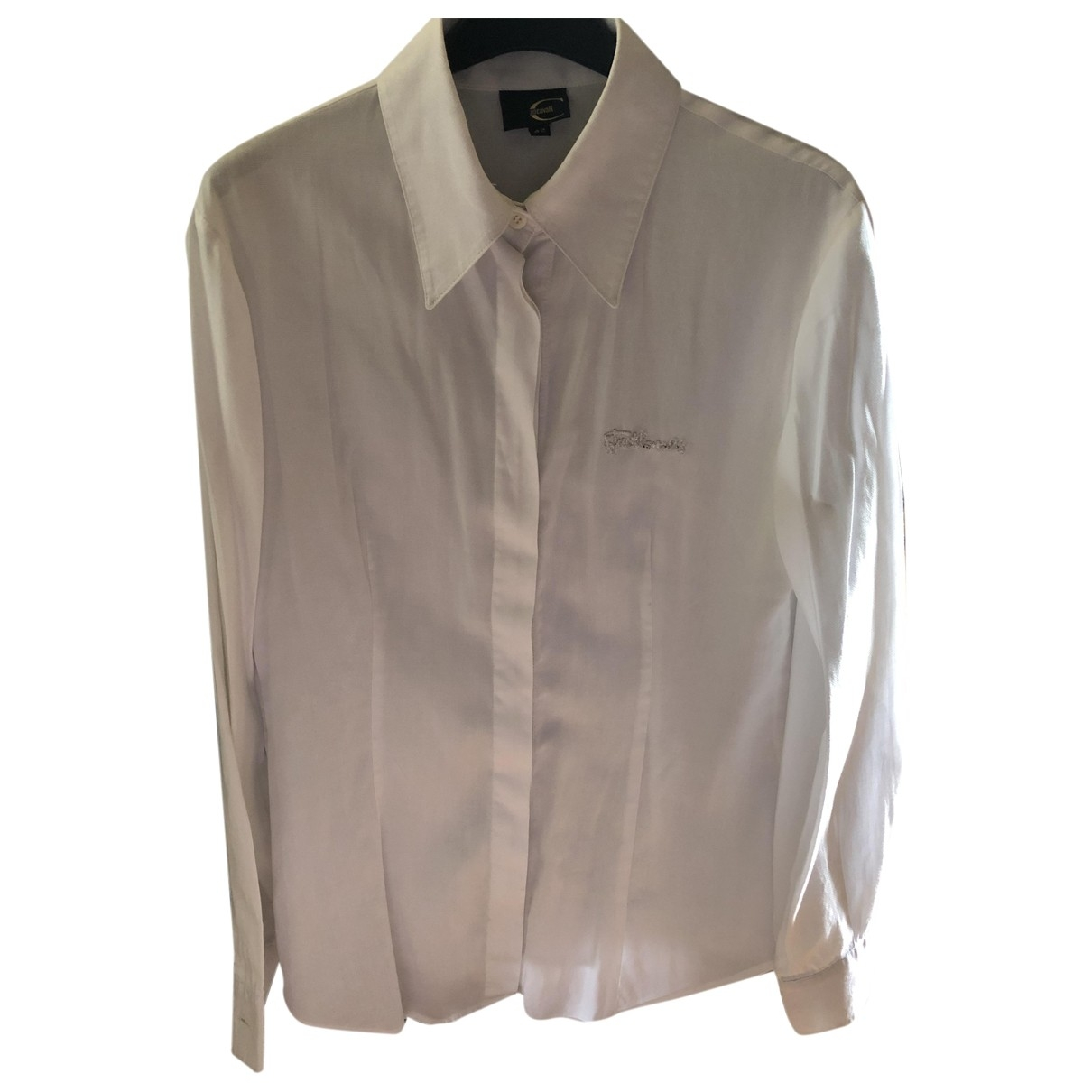 Just Cavalli \N White Cotton  top for Women 42 IT