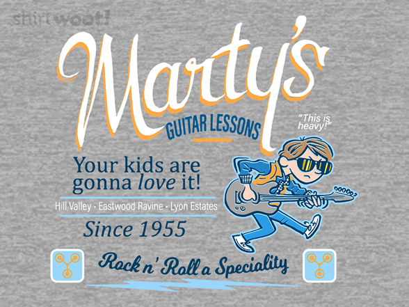 Marty's Guitar Lessons T Shirt