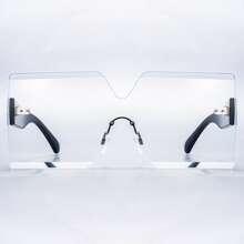 Sonnenbrille mit gerader Oberseite