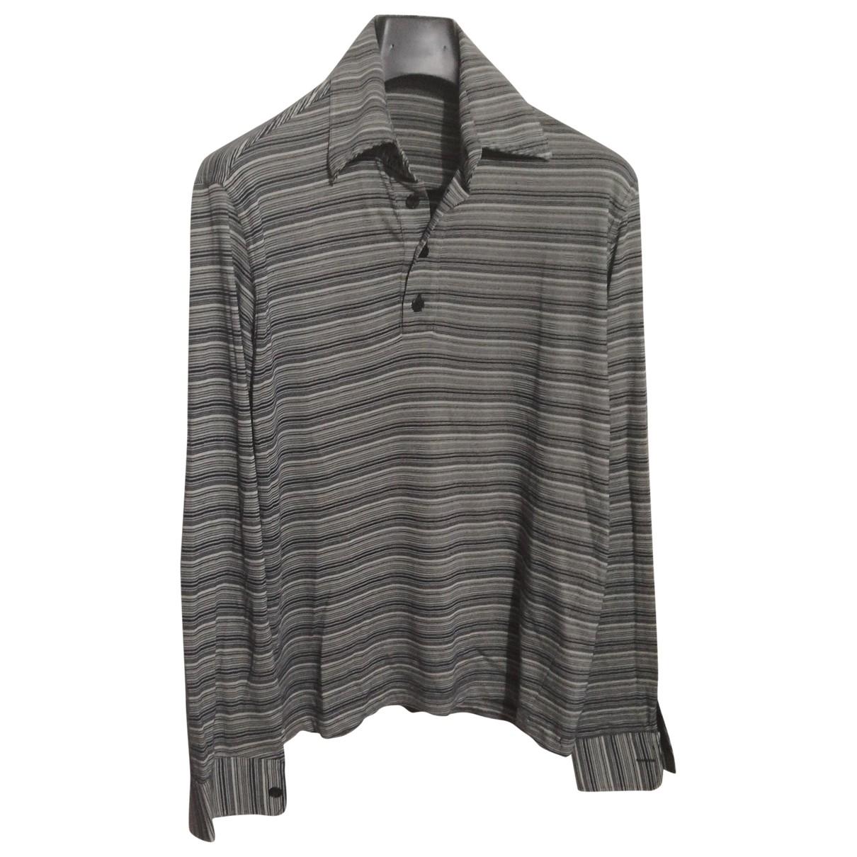 Daniele Alessandrini - Tee shirts   pour homme en coton - bleu