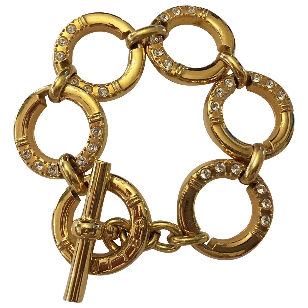 Celine \N Gold Metal bracelet for Women \N