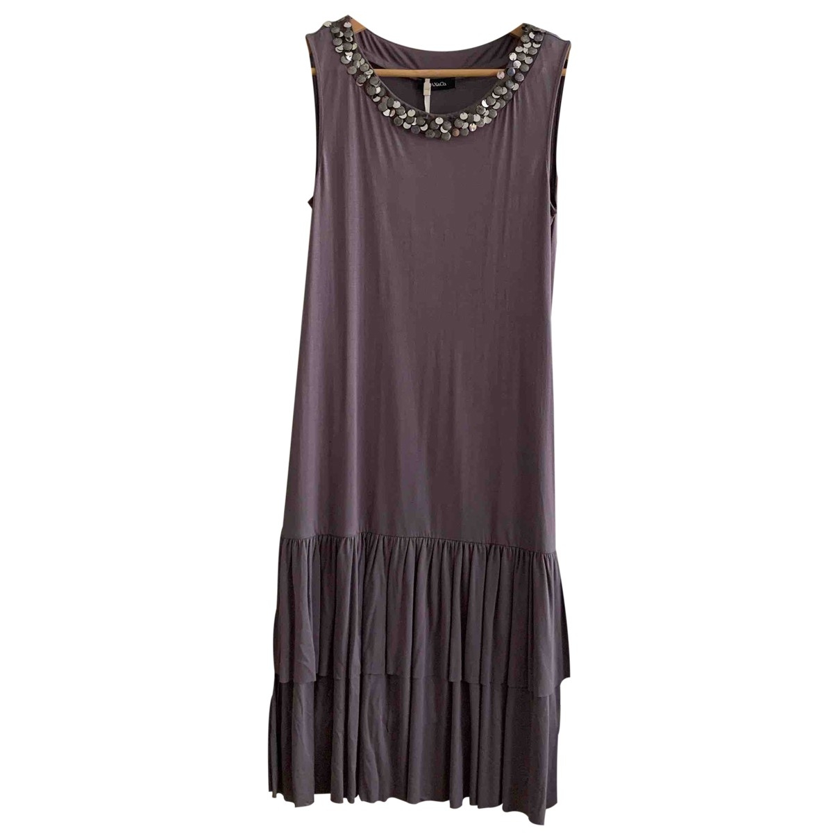 Max & Co \N Purple dress for Women 40 IT