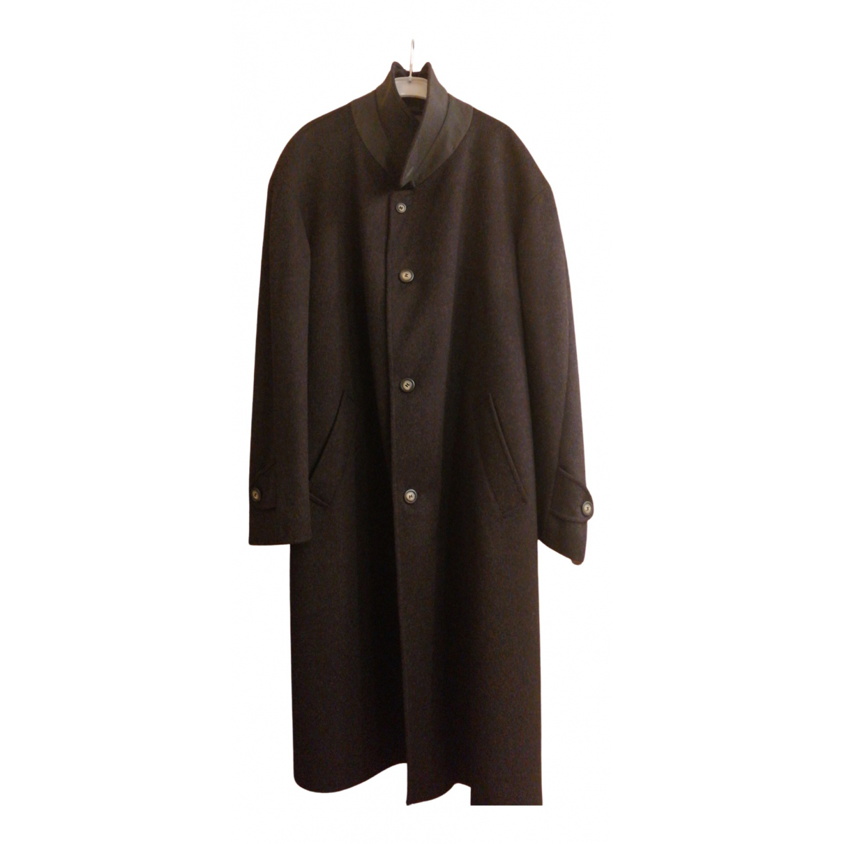 Bugatti - Manteau   pour homme en laine - noir