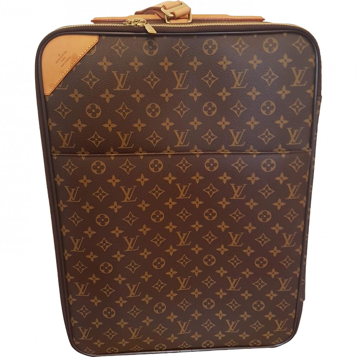 Louis Vuitton Pegase Reisetasche in Leinen