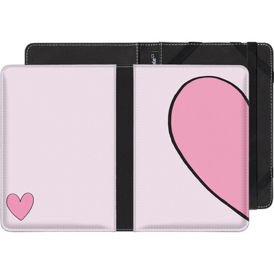 Kobo Glo eBook Reader Huelle - Half Heart Left von caseable Designs
