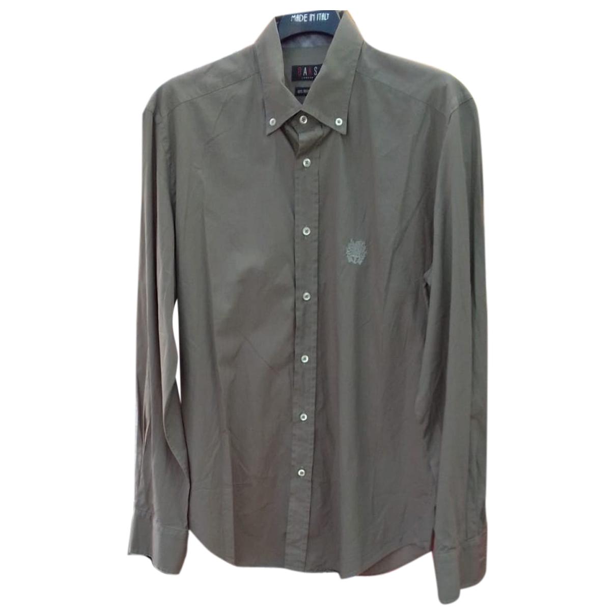 Daks - Chemises   pour homme en coton - marron