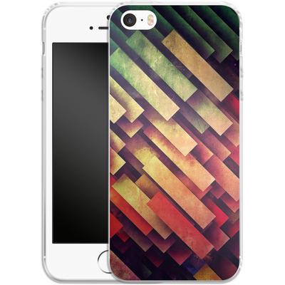 Apple iPhone 5s Silikon Handyhuelle - Wype Dwwn Thys von Spires